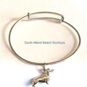 Jewelry - Silver Doxie Dachshund Charm Bracelet Dog Rescue